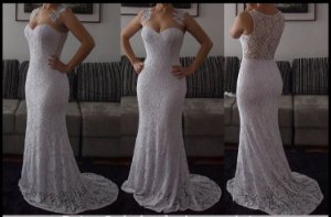 Vestido Noiva Simples