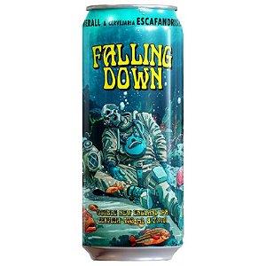 Cerveja Overall + Escafandrista Falling Down Double New England IPA Lata - 473ml