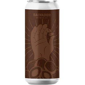 Cerveja Salvador Brewing Co The Beans Coconut Russian Imperial Stout C/ Nibs de Cacau, Café e Coco Lata - 473ml