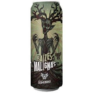 Cerveja Demonho Raízes Malignas Double IPA Lata - 473ml