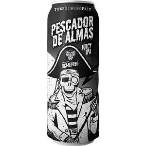 Cerveja Demonho Pescador de Almas Juicy IPA Lata - 473ml