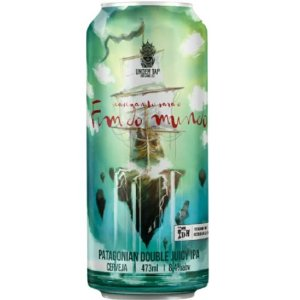 Cerveja Under Tap Navegando Para O Fim Do Mundo Patagonian Double Juicy IPA Lata - 473ml