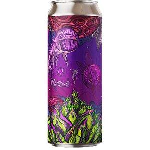 Cerveja Fermi Alien Kush Hazy IPA C/ Terpenos Lata - 473ml