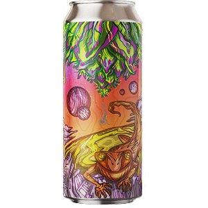 Cerveja Fermi Lyzard Hash Double Hazy IPA Lata - 473ml