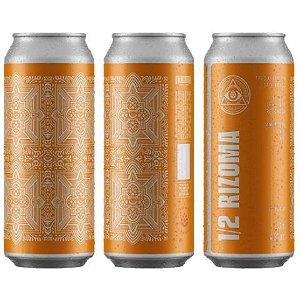Cerveja Dogma 1/2 Rizoma American Pale Ale Lata - 473ml