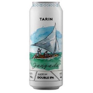 Cerveja Tarin Jangada Double IPA Lata - 473ml