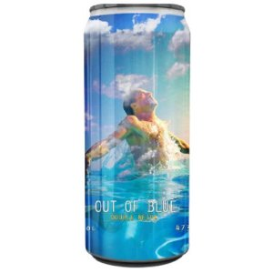 Cerveja Spartacus Out Of The Blue Double NEIPA Lata - 473ml
