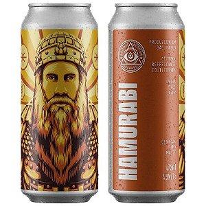 Cerveja Dogma Hamurabi India Pale Lager Lata - 473ml