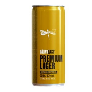Cerveja Dádiva Easy Premium Lager Lata - 310ml