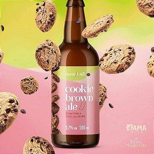 Cerveja Dama Bier Dama Lab #9 Cookie Brown Ale - 500ml