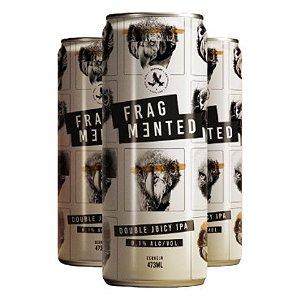 Cerveja Abutres Fragmented Double Juicy IPA Lata - 473ml