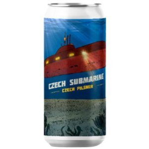 Cerveja Salvador Brewing Co Czech Submarine Czech Pilsner Lata - 473ml