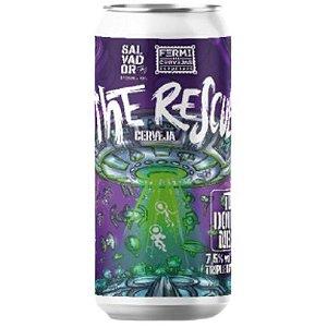 Cerveja Salvador Brewing Co + Fermi The Rescue TDH Double NEIPA Lata - 473ml