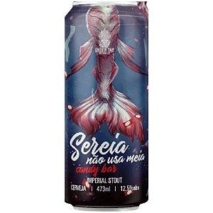 Cerveja Under Tap Sereia Não Usa Meia Candy Bar Russian Imperial Stout C/ Chocolate Lata - 473ml