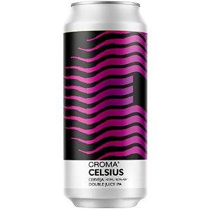 Cerveja Croma Celsius Double Juicy IPA Lata - 473ml
