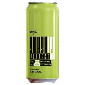 Cerveja Dádiva Smash IPA Project I India Pale Ale C/ Lúpulo e Malte Brasileiros Lata - 473ml