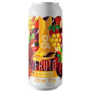 Cerveja Oca Fruto Açaí Smoothie Sour Ale Lata - 473ml