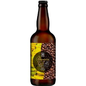 Cerveja Zalaz Banana e Café Wee Heavy C/ Doce de Banana com Café - 500ml