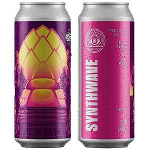 Cerveja Dogma + Koala San Brew Synthwave Hazy Double IPA Lata - 473ml