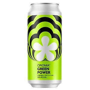 Cerveja Croma Green Power Double IPA Lata - 473ml