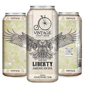 Cerveja Vintage Craft Beer Liberty American IPA Lata - 473ml