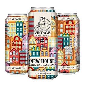 Cerveja Vintage Craft Beer New House New England IPA Lata - 473ml