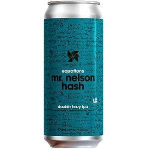 Cerveja Synergy Mr. Nelson Hash Double New England IPA Lata - 473ml