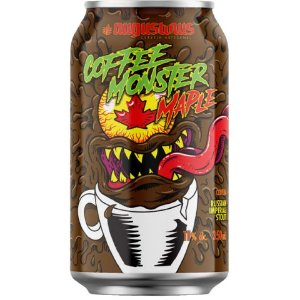 Cerveja Augustinus Coffee Monster Maple Russian Imperial Stout C/ Café e Maple Lata - 350ml