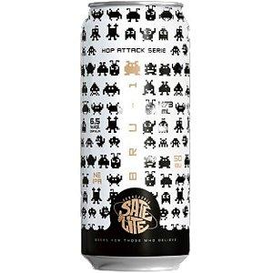 Cerveja Satélite Hop Attack Bru-1 New England IPA Lata - 473ml