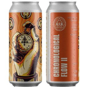 Cerveja Dogma Chronological Flow II West Coast IPA Lata - 473ml