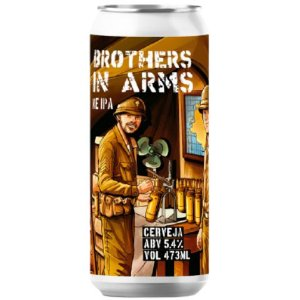 Cerveja Salvador Brewing Co Brothers In Arms New England IPA Lata - 473ml
