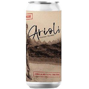 Cerveja Salvador Brewing Co Arioli Italian Pilsner Lata - 473ml