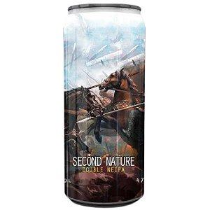Cerveja Spartacus Second Nature Double NEIPA Lata - 473ml