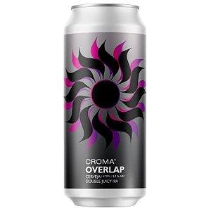 Cerveja Croma Overlap Double Juicy IPA Lata - 473ml