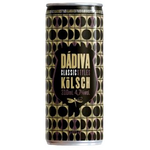 Cerveja Dádiva Classic Styles Kölsch Lata - 310ml