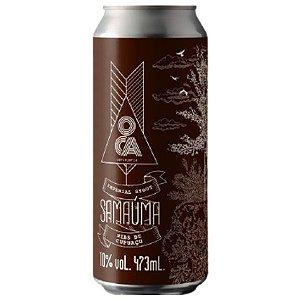 Cerveja Oca Samaúma Russian Imperial Stout C/ Cacau e Cupuaçu Lata - 473ml