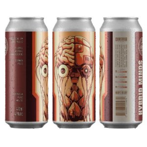 Cerveja Dogma Hybrid Minds German Pils Lata - 473ml