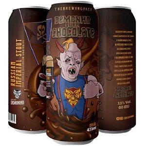Cerveja Demonho Quer Chocolate Russian Imperial Stout C/ Cacau Selvagem Amazônico Lata - 473ml