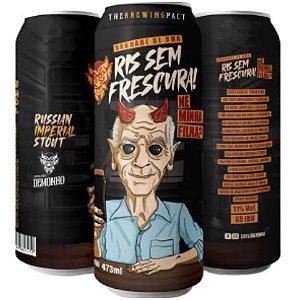 Cerveja Demonho Saudades de uma RIS sem Frescura, né, Minha Filha? Russian Imperial Stout Lata - 473ml