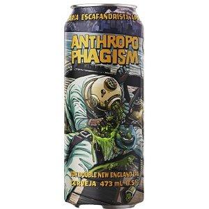 Cerveja Escafandrista Anthropophagism Double New England IPA Lata - 473ml