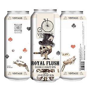 Cerveja Vintage Craft Beer Royal Flush Double Hazy IPA Lata - 473ml