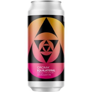 Cerveja Croma Equilateral DDH Double Juicy IPA Lata - 473ml