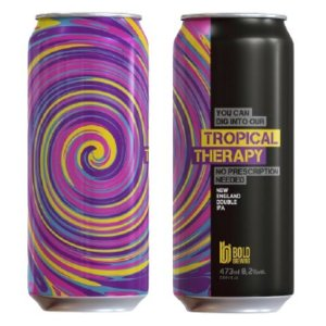 Cerveja Bold Brewing Tropical Therapy New England Double IPA Lata - 473ml