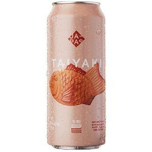 Cerveja Japas Taiyaki Imperial Stout C/ Doce de Feijão, Baunilha e Lactose Lata - 473ml