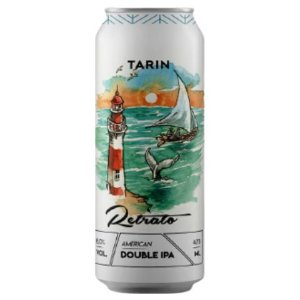 Cerveja Tarin Retrato #1 Double IPA Lata - 473ml