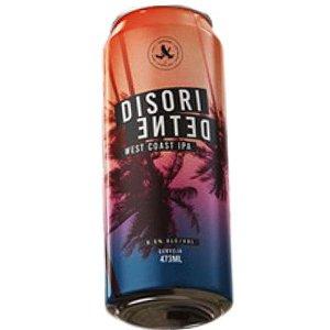 Cerveja Abutres Disoriented West Coast IPA Lata - 473ml