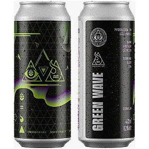 Cerveja Dogma Green Wave Terpene Hazy IPA Lata - 473ml