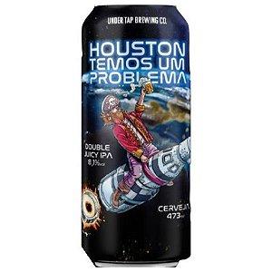 Cerveja Under Tap Houston Temos Um Problema Double Juicy IPA Lata - 473ml
