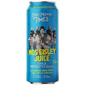 Cerveja Escafandrista Post Modern Times Mos Eisley Juice Smoothie Sour Ale C/ Tangerina, Goiaba Branca, Hortelã, Coco e Spirulina Lata - 473ml