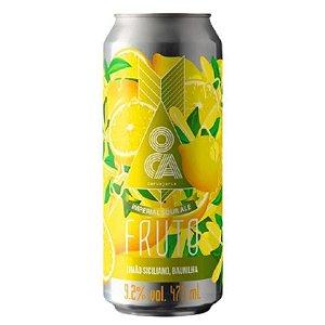Cerveja Oca Fruto Limão Siciliano e Baunilha Imperial Sour Lata - 473ml